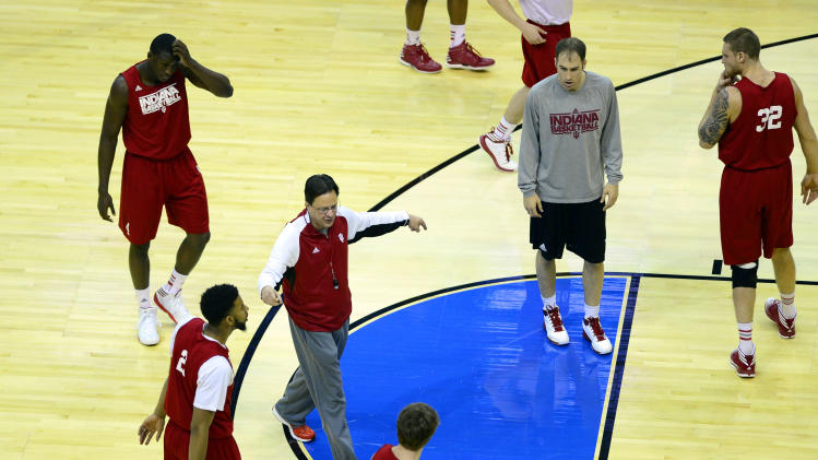 NCAA Basketball: NCAA Tournament-Indiana Practice