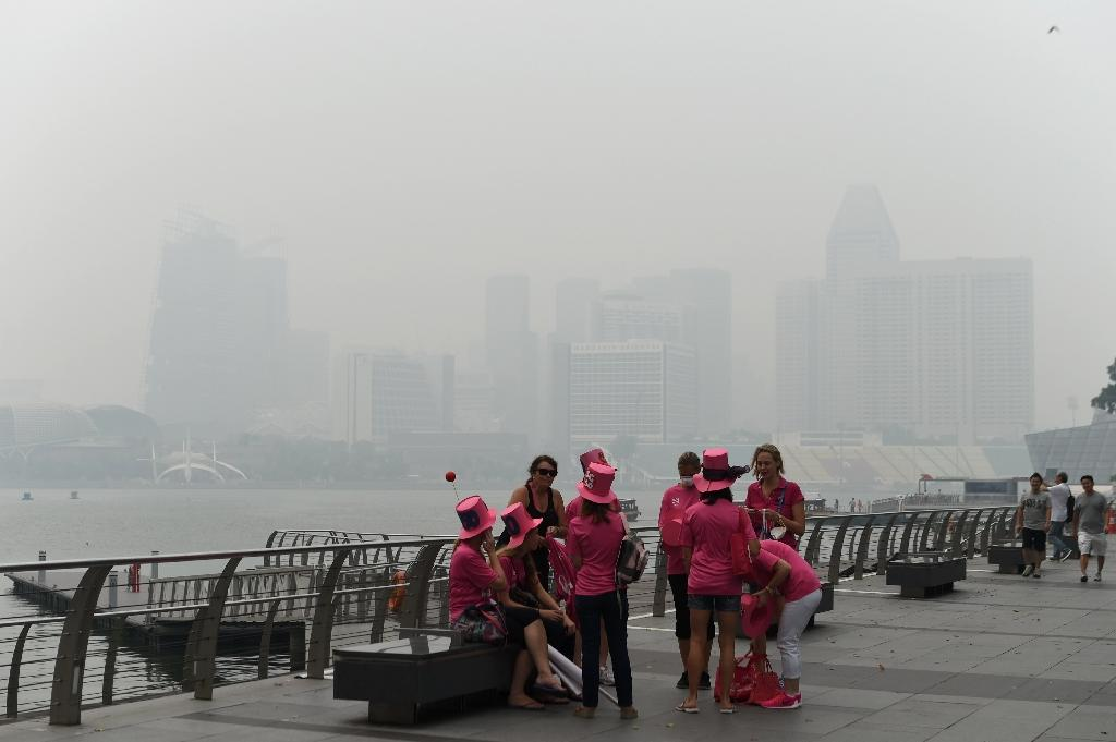 FINA cancels day one of World Championships due to haze