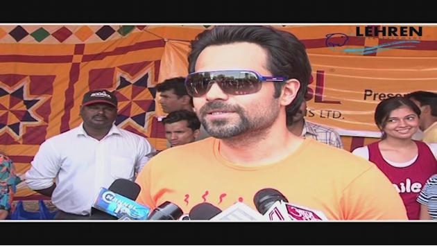 Spotted- Emraan Hashmi At Meida Cup Tournament