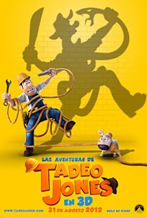 Póster de Las aventuras de Tadeo Jones