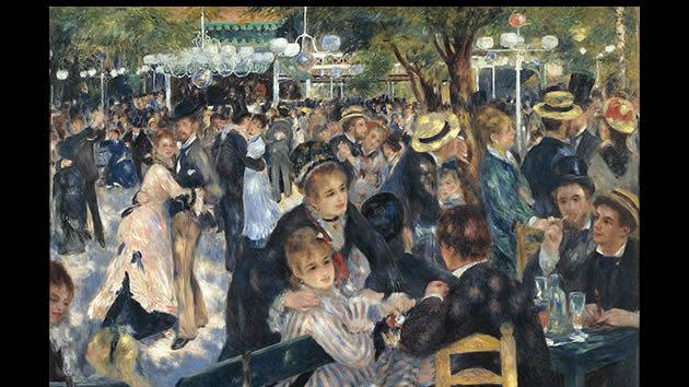 Le Moulin de la Galette by Pierre-Auguste Renoir, $49.3 million.