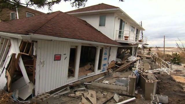Breezy Point's battle to rebuild one year after Sandy