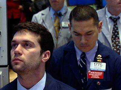 Raw: Newtown Victims Mourned in Silence at NYSE