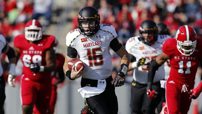CJ Brown's 5 TDs lead Terps past Wolfpack, 41-21