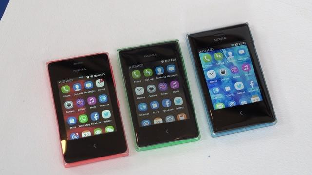 First Look: Nokia Asha 500, 502, 503: bright colours on a tiny budget