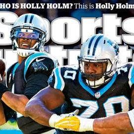 Panthers QB Cam Newton lands SI cover