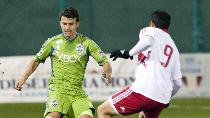 MLS: Preseason-Seattle Sounders vs New York Red Bulls
