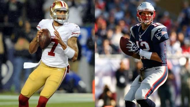 Colin Kaepernick and Tom Brady: Career twins?