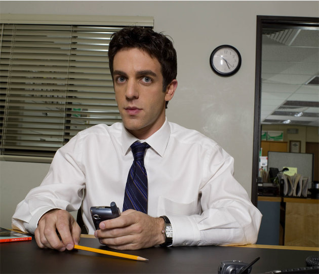 B.J. Novak stars as Ryan Howard on NBC's The Office.