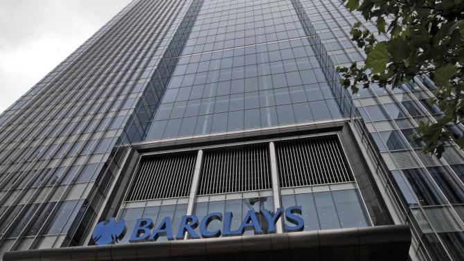 A view of Barclays headquarters at London's Canary Wharf financial district, Tuesday, July 3, 2012. Barclays Chief Executive Bob Diamond quit his job Tuesday, the latest scalp in a financial markets scandal that has also seen the bank's chairman announce his intention to resign and sown the seeds for another investigation into Britain's banking sector. Barclays' management has come under fire since the bank was fined $453 million last week by U.S. and British regulators for submitting false reports on interbank borrowing rates between 2005 and 2009.  (AP Photo/Lefteris Pitarakis)