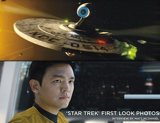 Star Trek First Look Photos Title Card