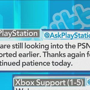 Playstation and Xbox Live networks hit by hack