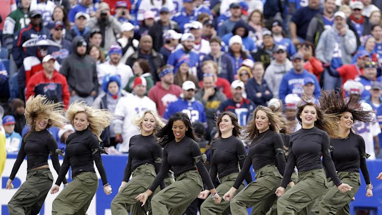 Buffalo Bills cheerleaders suspend operations