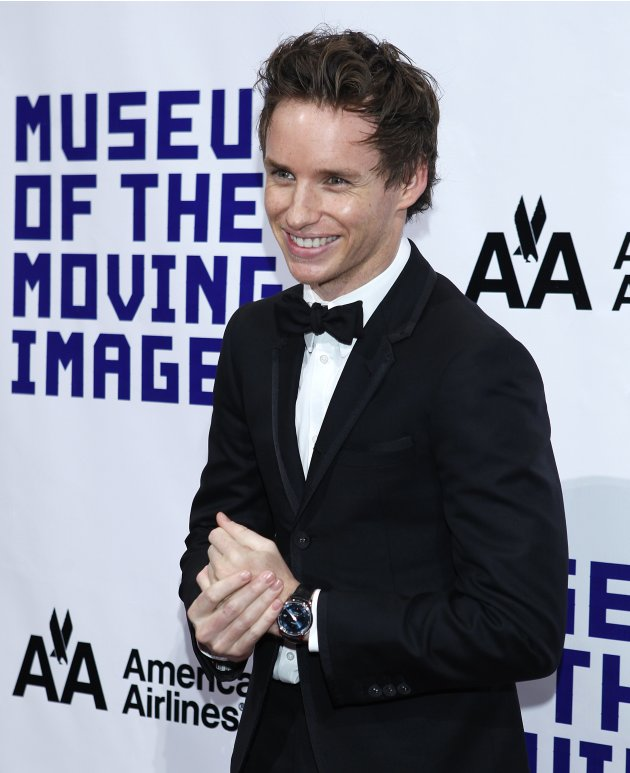 Actor Eddie Redmayne arrives …