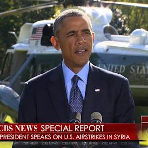 Special Report: Obama addresses U.S. airstrikes in Syria