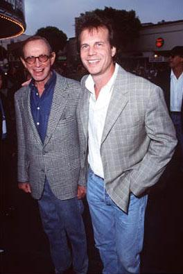 Bill Paxton and his father at the Westwood premiere of Dreamworks' Saving Private Ryan