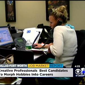 Jobs Report: How To Turn A Hobby Into A Career