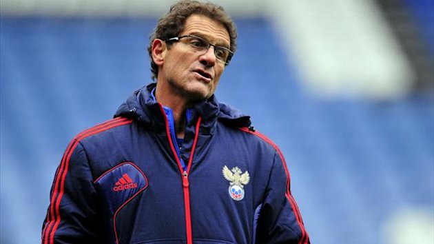 Russia boss Fabio Capello had been linked with Italy (AFP)