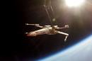 Two guys launch an X-wing into space for 'Star Wars' tickets