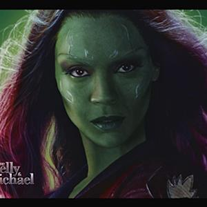 Zoe Saldana's Movie Makeup Nightmare