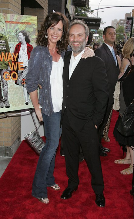Away We Go NY Screening 2009 Allison Janney Sam Mendes