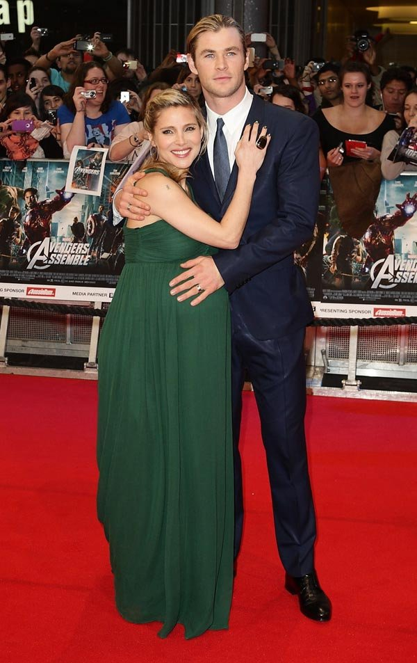 Chris Hemsworth's Wife Gives Birth To Baby Girl