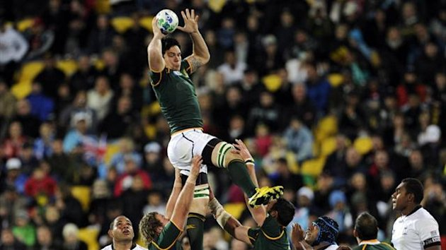 South Africa Springboks' Francois Louw (Reuters)