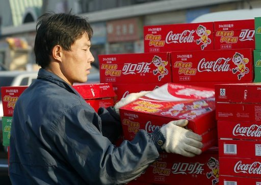 <p>Coca-Cola's sales continued to rise steadily in the third quarter despite slower global economic growth, but sales growth eased in key market China, the company said in an earnings report.</p>