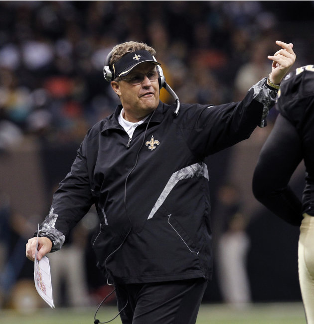 FILE - In this Dec. 12, 2010 file photo, New Orleans Saints defensive coordinator Gregg Williams gestures in the second half of an NFL football game aainst the St. Louis Rams, in New Orleans. A newly