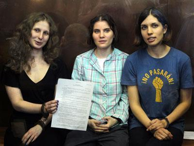 Russian church: Pussy Riot deserve mercy
