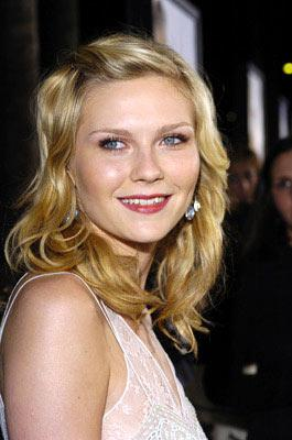 Kirsten Dunst at the Beverly Hills premiere of Universal Pictures' Wimbledon