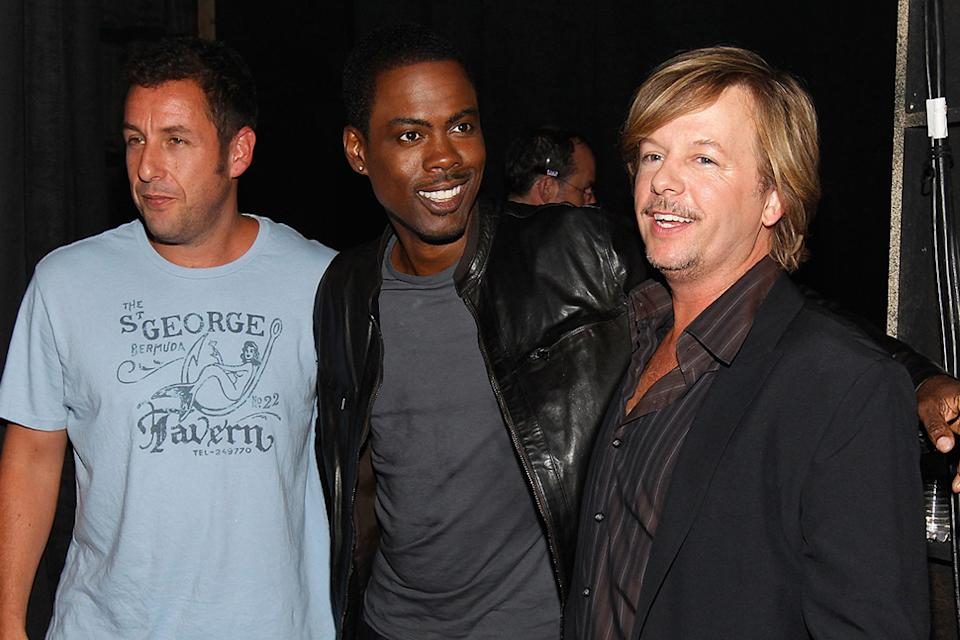 2010 Guys Choice Awards Adam Sandler Chris Rock David Spade