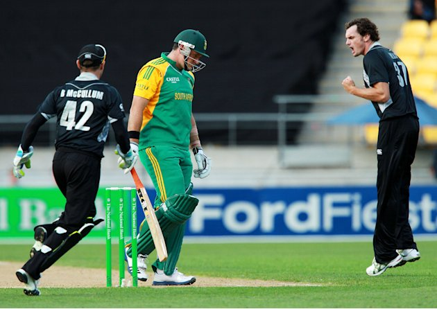 New Zealand v South Africa - 1st One Day International