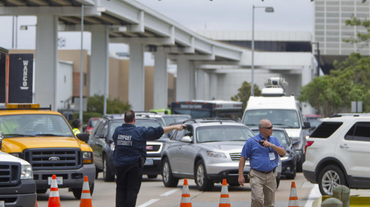 Man killed after firing shot at Houston airport