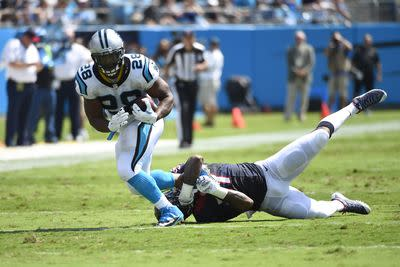 Jonathan Stewart returns to Friday practice, has a nice fantasy matchup Sunday