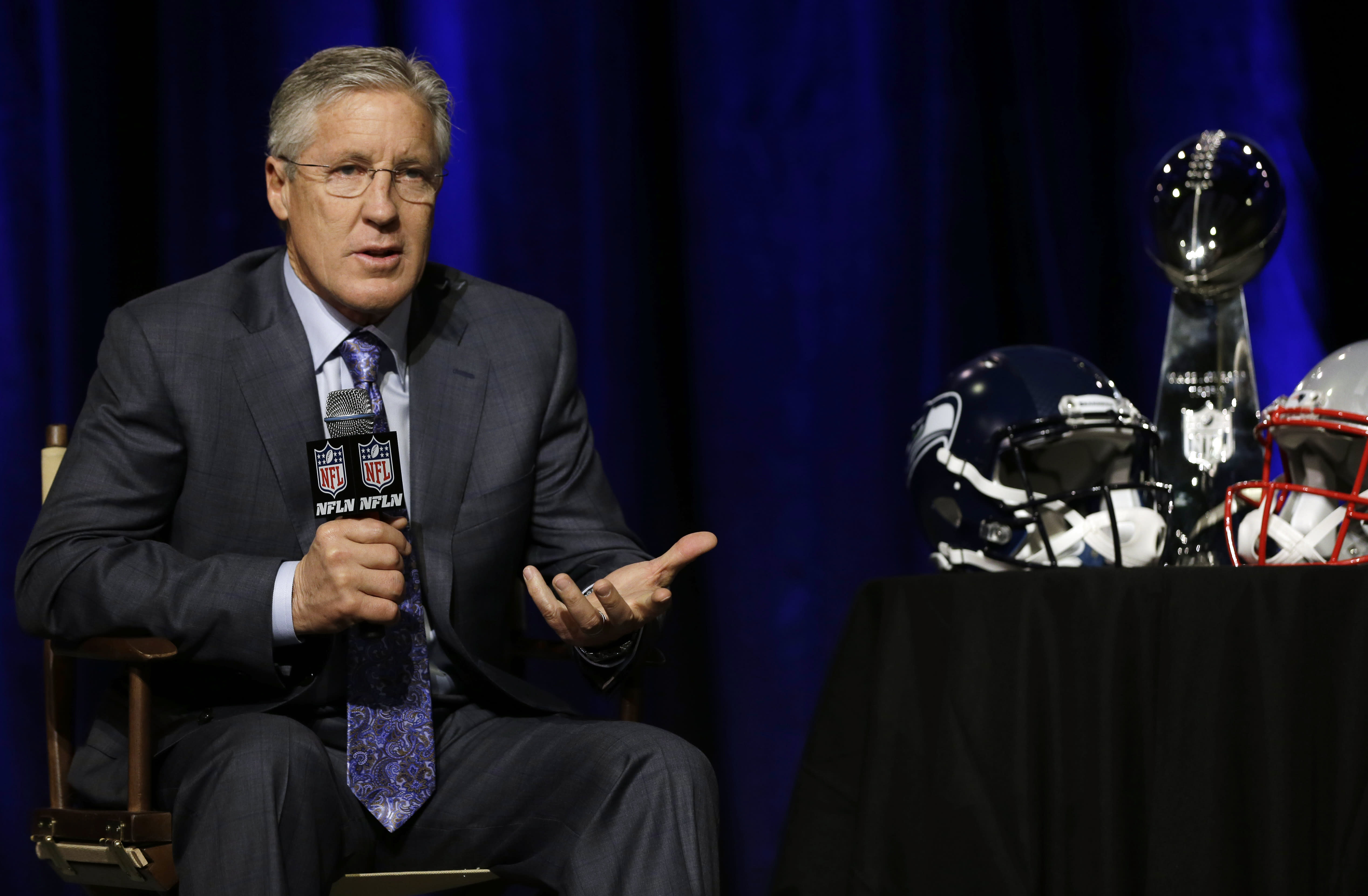 Carroll says decision is Sherman's if baby arrives early