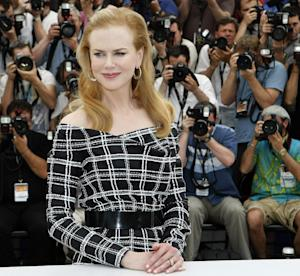 """FILE - In this May 25, 2012 file photo, actress Nicole Kidman poses for photographers during a photo call for """"Hemingway & Gellhorn"""" at the 65th international film festival, in Cannes, southern France. (AP Photo/Lionel Cironneau, File)"""