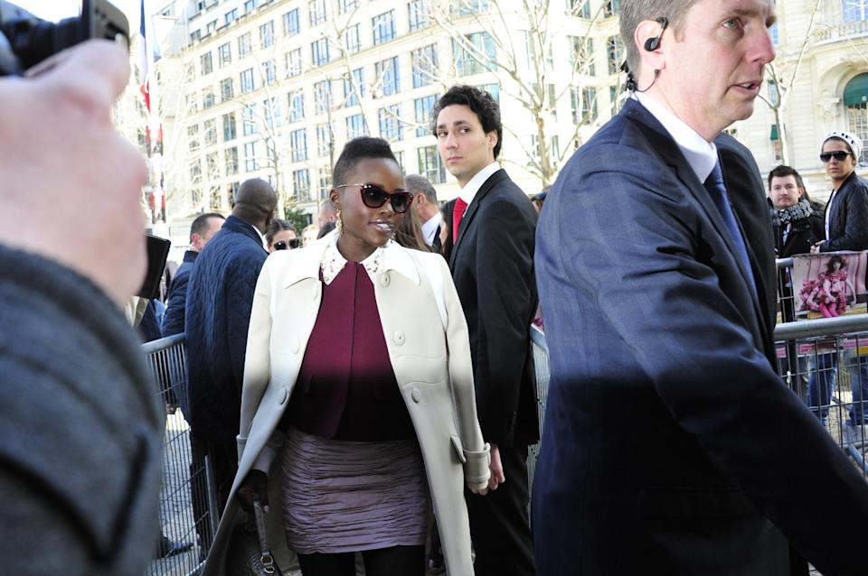 Lupita Nyong'o and Jared Leto rock Prada's show