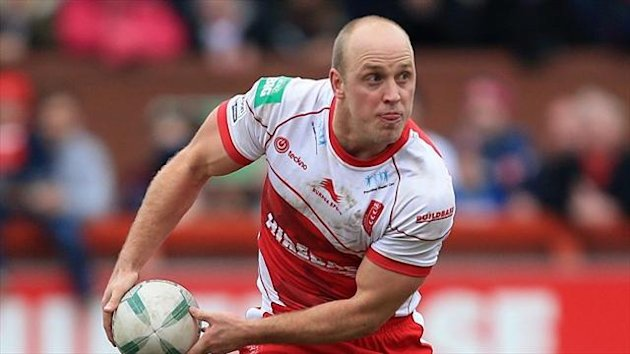 Michael Dobson kicked four goals for Hull KR