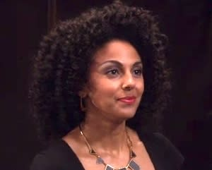 Exclusive Men at Work Video: White Collar's Marsha Thomason Grabs Gibbs' Attention
