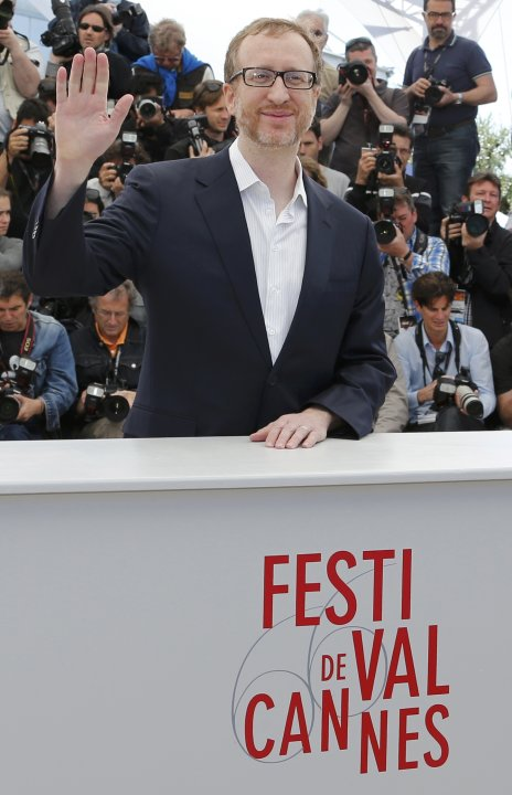 "Director James Gray poses during a photocall for the film ""The Immigrant"" at the 66th Cannes Film Festival"