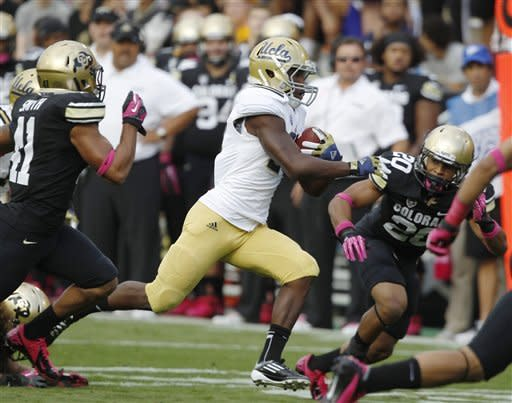Hundley, Franklin lead UCLA past Colorado 42-14
