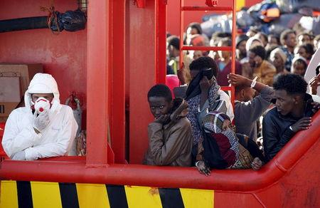Around 7,000 Europe-bound migrants rescued, baby girl born on Italian navy ship