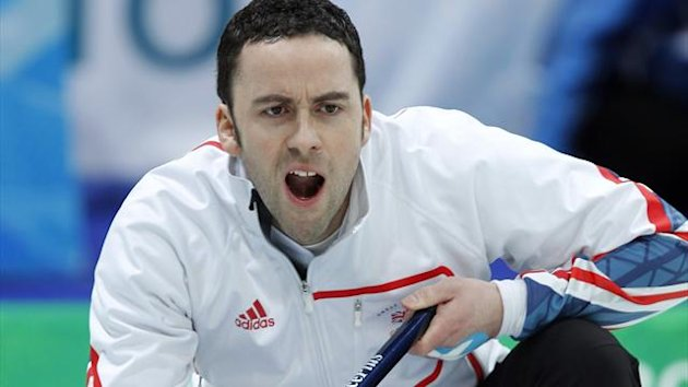 Curling skip David Murdoch of Scotland (Reuters)