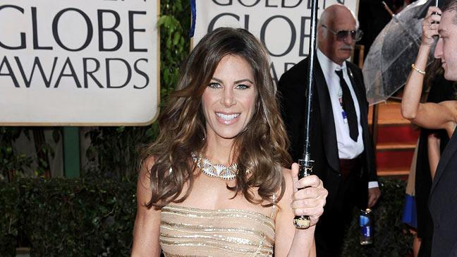 Jillian Michaels arrives at the 67th Annual Golden Globe Awards at The Beverly Hilton Hotel on January 17, 2010 in Beverly Hills, California.