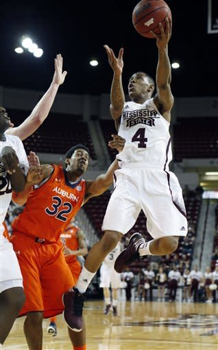 Sword, Mississippi State beat Auburn 74-71 in OT