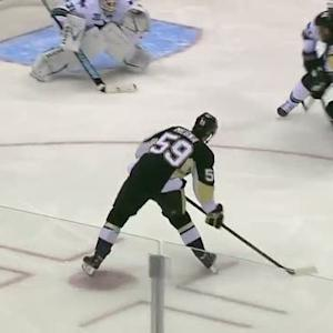 Jayson Megna goes top-shelf on Niemi