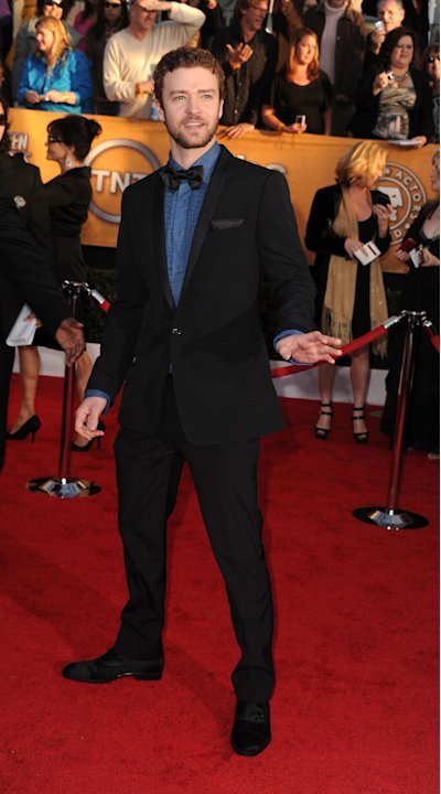 Red Carpet Report Card SAG Awards 2010 Justin Timberlake