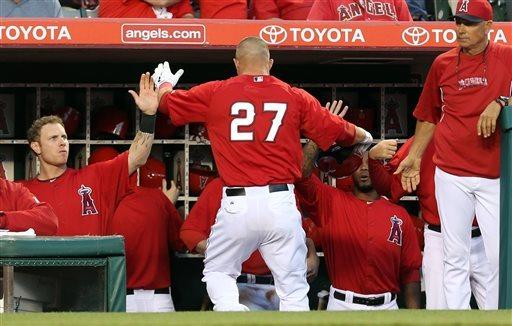Conger's pinch HR leads Angels past Dodgers 2-1