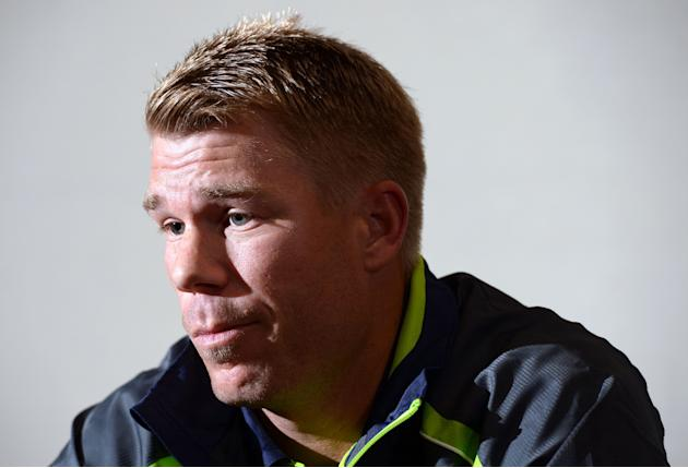 Cricket - David Warner and Michael Clarke Press Conference - Royal Garden Hotel